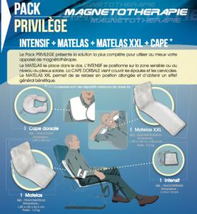 Pack Privilège Magnétothérapie